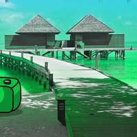Free online flash games - Holiday Secret Beach Escape game - WowEscape
