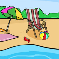 Free online flash games - GenieFunGames Genie Beach Tower Rescue game - WowEscape