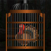 Free online flash games - Thanksgiving Turkey Cage Escape game - WowEscape