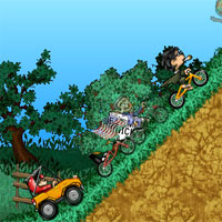 Free online flash games - Cycle Scramble game - WowEscape