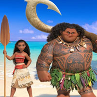 Free online flash games - Moana-Hidden Numbers game - WowEscape