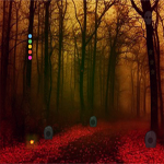Free online flash games - Red Forest Escape game - WowEscape