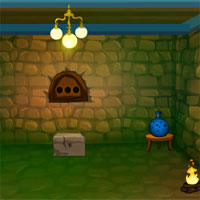 Free online flash games - Dark Stone Room Escape game - WowEscape
