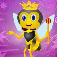 Free online flash games - G4K Joyous Queen Bee Escape