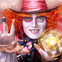 Free online flash games - Alice Through the Looking Glass Spots game - WowEscape