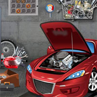 Free online flash games - Top10 Find The Race Car game - WowEscape
