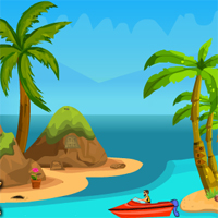 Free online flash games - Games4Escape Island Boat Escape game - WowEscape
