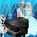 Free online flash games - Elsa and Jack Wedding Dance game - WowEscape