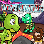 Free online flash games - Dino New Adventure 2 game - WowEscape