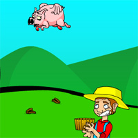 Free online flash games - Pig Poo Power game - WowEscape