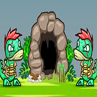 Free online flash games - Dino Meat Adventure 2 game - WowEscape