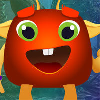 Free online flash games - G4k Cartoon Creature Rescue  game - WowEscape