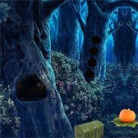 Free online flash games - 8bGames Pumpkin Forest Escape game - WowEscape