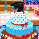 Free online flash games - Anna Graduatioon Cake Contest game - WowEscape