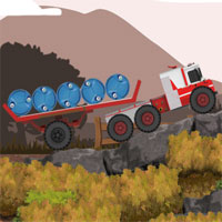 Free online flash games - 18 Wheeler Fire Truck game - WowEscape