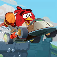 Free online flash games - Angry Birds Car Key game - WowEscape