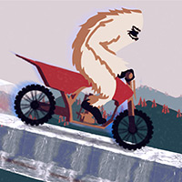 Free online flash games - Yeti Extreme Motocross game - WowEscape