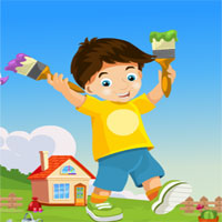 Free online flash games - G4K Painter Boy Rescue game - WowEscape