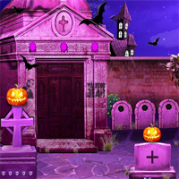 Free online flash games - NSREscapeGames Halloween Treasure Hunt 2018 game - WowEscape
