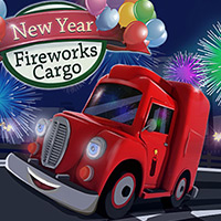 Free online flash games - New Year Fireworks Cargo game - WowEscape