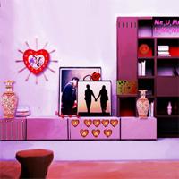 Free online flash games - Top10NewGames Valentine House Escape 5 game - WowEscape