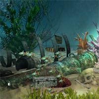 Free online flash games - FirstEscapeGames Underwater Treasure Escape 2 game - WowEscape