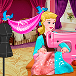 Free online flash games - Disney Princess Prom Dress Design game - WowEscape