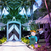 Free online flash games - Island Resort Escape game - WowEscape