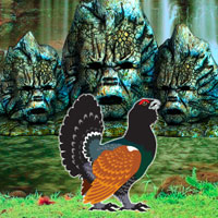Free online flash games - Capercaillie Bird Escape game - WowEscape
