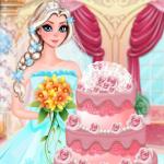 Free online flash games - Elsa Wedding Cake game - WowEscape