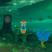 Free online flash games - Underwater Forest Escape Wowescape game - WowEscape