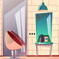 Free online flash games - Hair Dressing Room Escape game - WowEscape