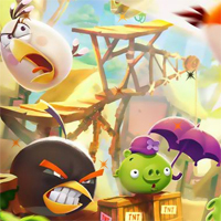 Free online flash games - HOG Hidden Star Angry Bird 2 game - WowEscape