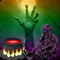 Free online flash games - BigEscapeGames Big Halloween Land Escape game - WowEscape