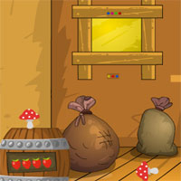 Free online flash games - GenieFunGames Shiny Easter Wooden Door Escape
