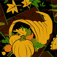 Free online flash games - Thanksgiving Cornucopia Numbers game - WowEscape