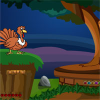 Free online flash games - Top10 Thanksgiving Find the Princess Crown  game - WowEscape