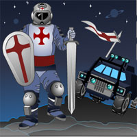 Free online flash games - Crusaders Truck game - WowEscape