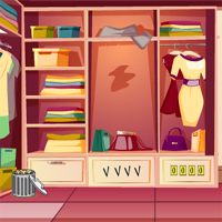 Free online flash games - Dressing Room Escape GenieFunGames game - WowEscape