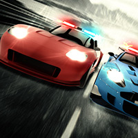 Free online flash games - Police Hot Racing game - WowEscape