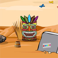 Free online flash games - GFG Tribal Territory Rescue Escape game - WowEscape