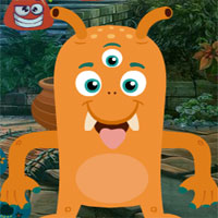 Free online flash games - G4K Three Eyed Yellow Creature Escape game - WowEscape