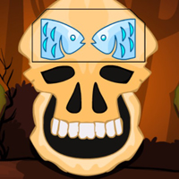 Free online flash games - G2M Brown Skull Forest Escape