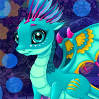 G4K Cute Fantasy Dragon Escape