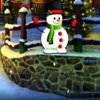 Free online flash games - Find Christmas Doll Gift game - WowEscape
