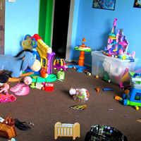 Free online flash games - Kids Messy Room Objects game - WowEscape