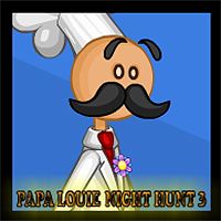 Free online flash games - Papa Louie Night Hunt 3 game - WowEscape