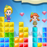 Free online flash games - Elsa Anna Rainbow Island Adventure game - WowEscape