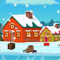 Free online flash games - Christmas Release The Goat game - WowEscape
