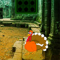 Free online flash games - Big Thanksgiving Ruins Forest Escape game - WowEscape